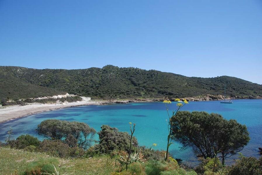 Bucht in der Nähe des Ferienhauses auf Sardinien Casa Lentischi