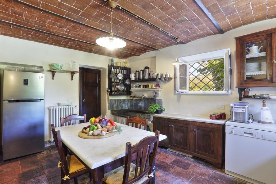 Die traditionelle toskanische Küche der Villa Clara lässt keine Wünsche offen