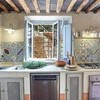 Schöne Küche im Ferienhaus Damiano bei Lucca in Toskana