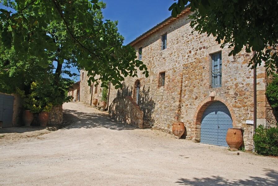 Die klassische Architektur des Ferienhaus Le Porciglia entspricht den lokalen Traditionen