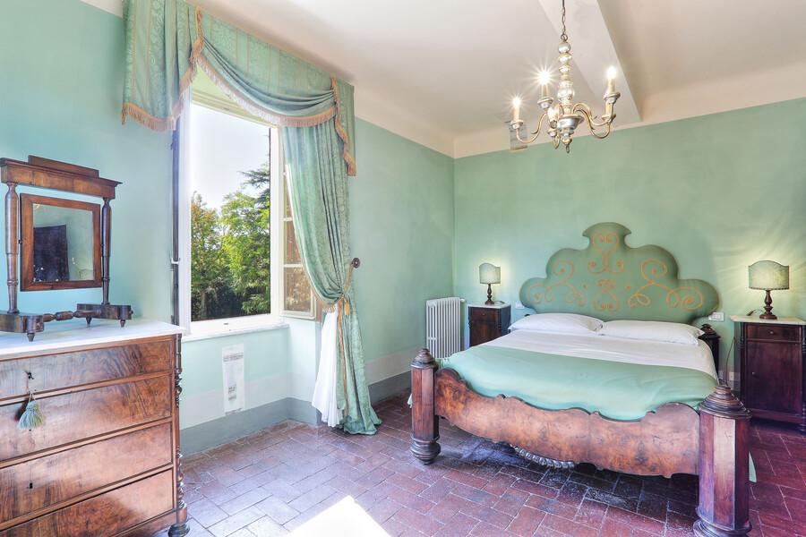 Jedes der Schlafzimmer der Villa Clara hat ein individuelles Design