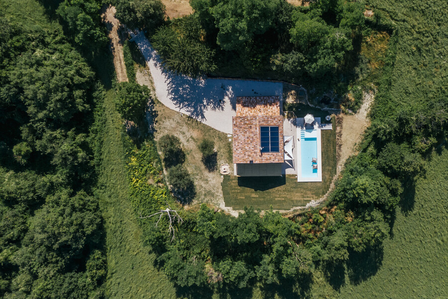 Casa Fontegenga mit privatem Pool in Le Marche