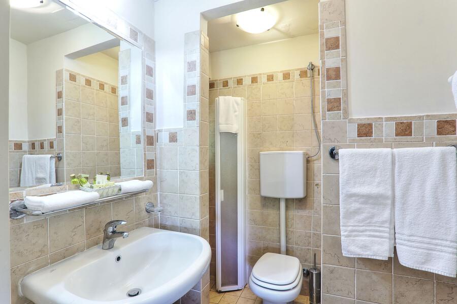 Jedes der Schlafzimmer des Ferienhaus Clara hat ein eigenes Badezimmer