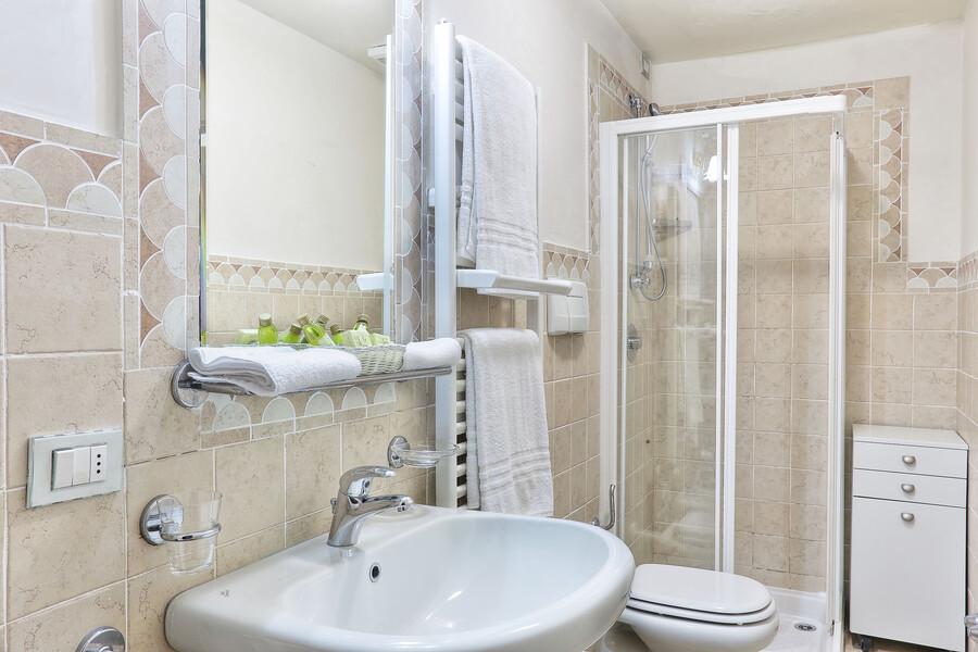 Auch die Badezimmer der Villa Clara sind voll ausgestattet